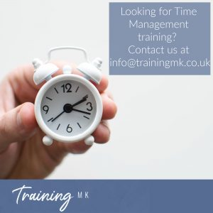 image of Time Management training by Training MK